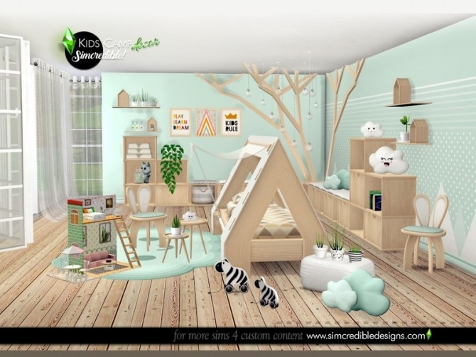 Kids Camping decor by SIMcredible at TSR image 8123 670x503 Sims 4 Updates