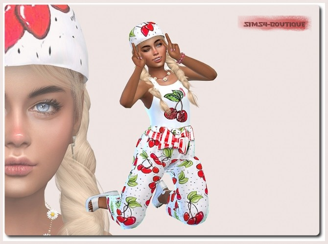 Designer Set for Child Girls at Sims4 Boutique image 8217 670x498 Sims 4 Updates