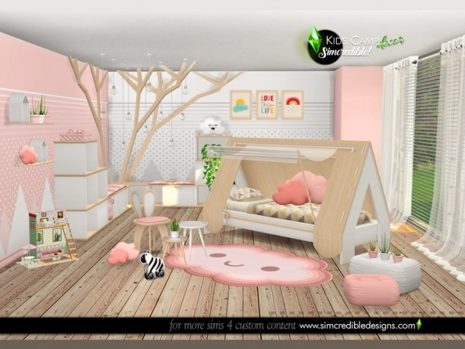 Kids Camping decor by SIMcredible at TSR image 8222 670x503 Sims 4 Updates