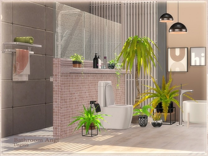 Angi Bathroom by ung999 at TSR image 8422 670x503 Sims 4 Updates
