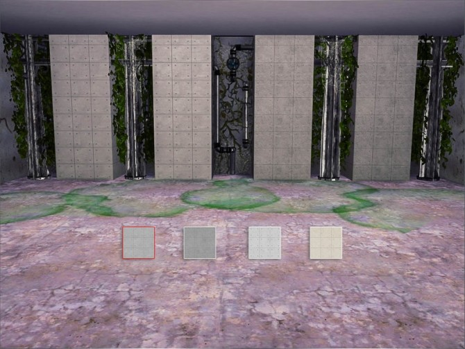 Sims 4 Construction Concrete wall by Caroll91 at TSR