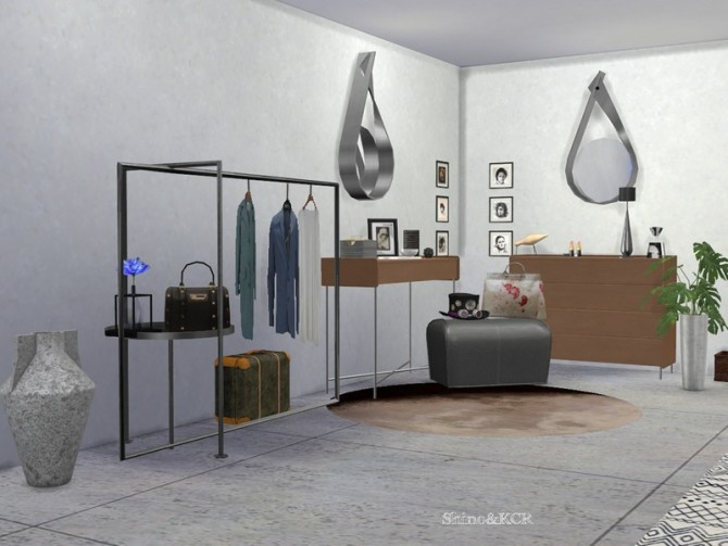 Sims 4 Hallway Cologne 2020 by ShinoKCR at TSR
