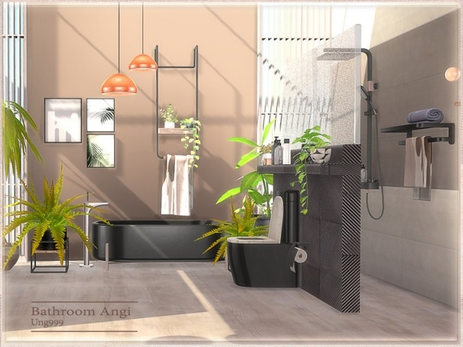 Angi Bathroom by ung999 at TSR image 8521 670x503 Sims 4 Updates