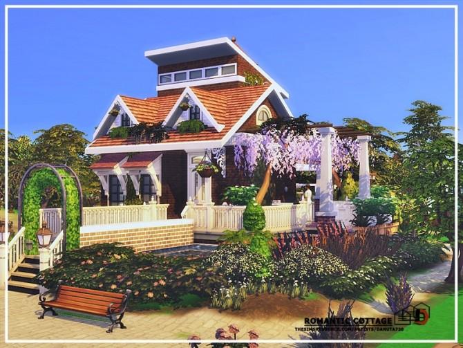 Sims 4 Romantic cottage by Danuta720 at TSR