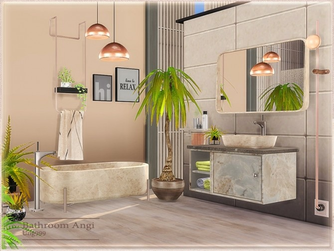 Angi Bathroom by ung999 at TSR image 8621 670x503 Sims 4 Updates