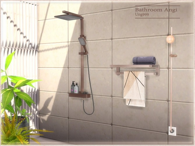 Angi Bathroom by ung999 at TSR image 8722 670x503 Sims 4 Updates