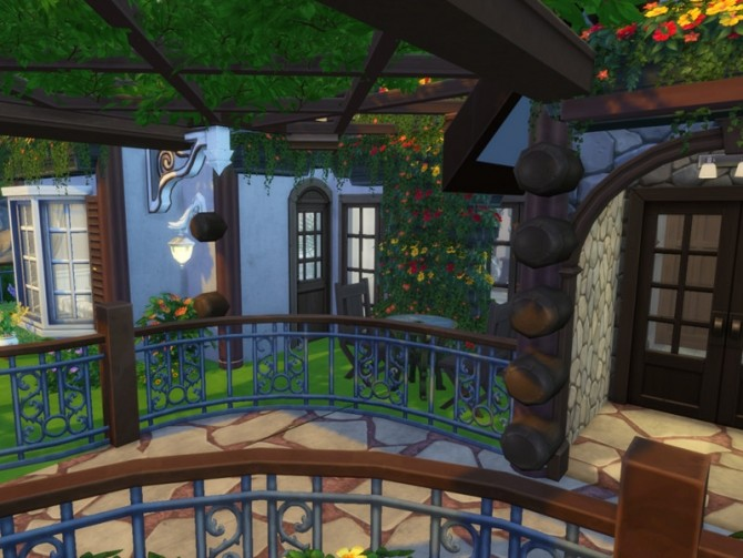 Secret Idyll small family home by VirtualFairytales at TSR image 9104 670x503 Sims 4 Updates