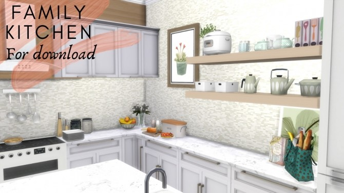 FAMILY KITCHEN at Dinha Gamer image 9120 670x377 Sims 4 Updates