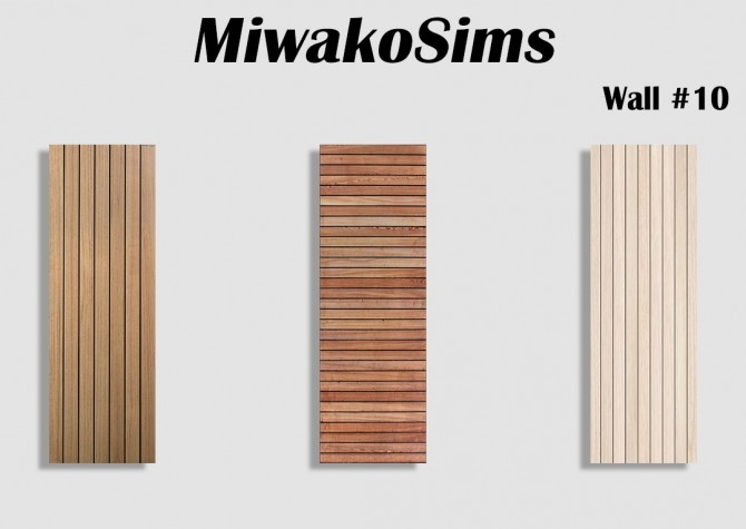 Collection #10 walls at MiwakoSims image 9321 670x475 Sims 4 Updates