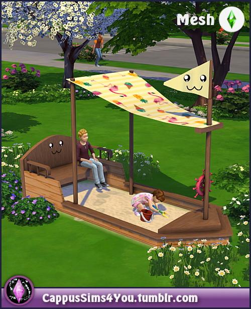 Sandbox sailboat at CappusSims4You image 9413 Sims 4 Updates