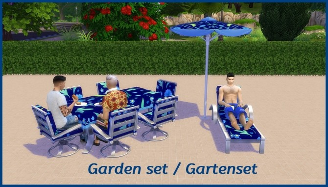 Garden furniture by hippy70 at Mod The Sims image 9520 670x381 Sims 4 Updates