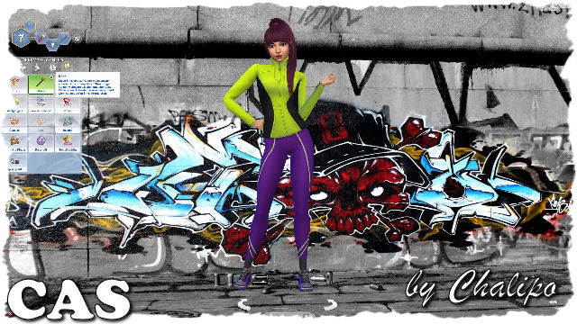 Graffiti CAS backgroud by Chalipo at All 4 Sims image 9521 Sims 4 Updates