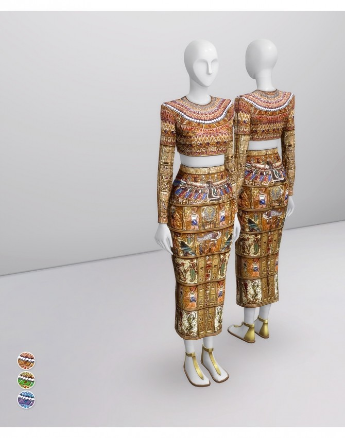 Sims 4 SS 2020 Couture Collection I  1 at Rusty Nail