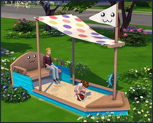 Sandbox sailboat at CappusSims4You image 9613 Sims 4 Updates
