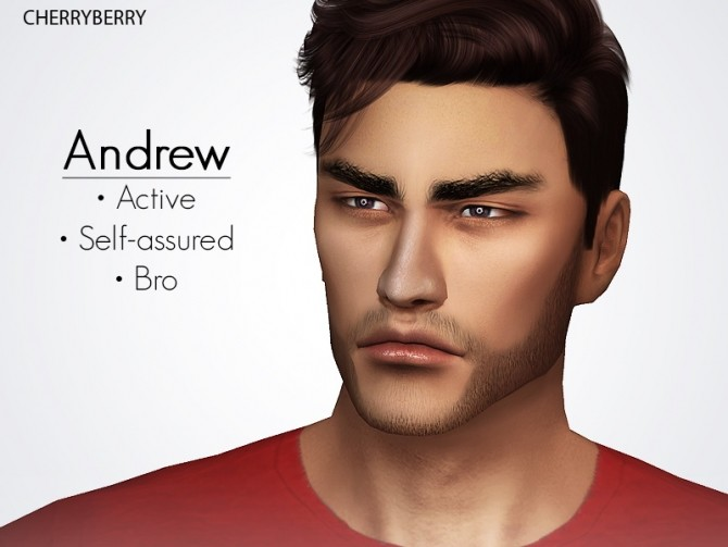 Andrew at Cherryberry image 9616 670x503 Sims 4 Updates