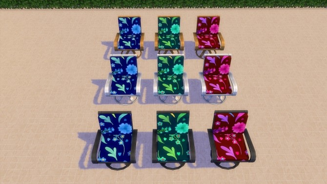 Garden furniture by hippy70 at Mod The Sims image 9620 670x377 Sims 4 Updates