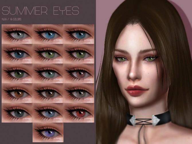 Sims 4 LMCS Summer Eyes N26 by Lisaminicatsims at TSR