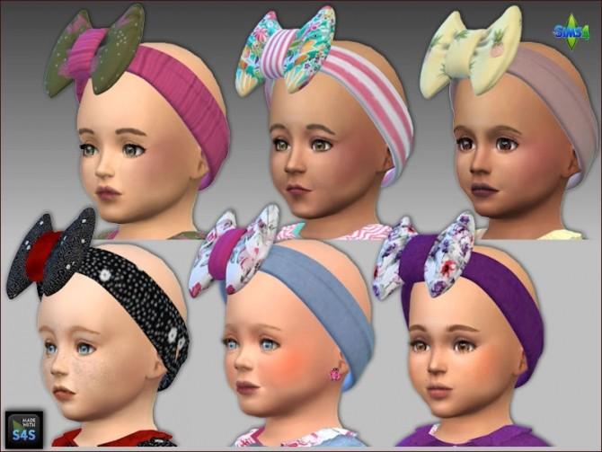 Shirt and headband for toddler girls by Mabra at Arte Della Vita image 9817 670x503 Sims 4 Updates