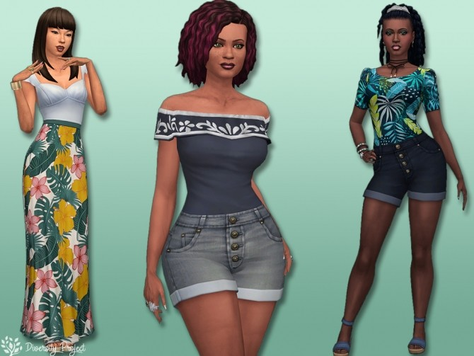 Spring Collection 2020 at Sims 4 Diversity Project image 9917 670x503 Sims 4 Updates