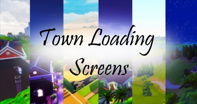 Town Loading Screens by Debbiepearl at Mod The Sims image 10012 670x355 Sims 4 Updates