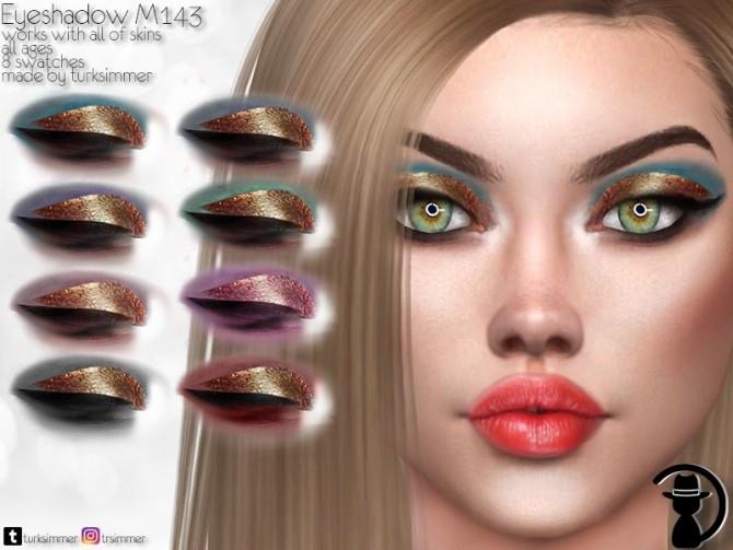 Sims 4 Eyeshadow M143 by turksimmer at TSR