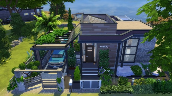 Arold Small House at Mister Glucose image 10117 670x377 Sims 4 Updates