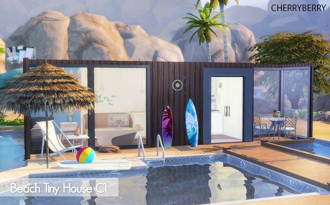 Beach Tiny House at Cherryberry image 1022 670x417 Sims 4 Updates
