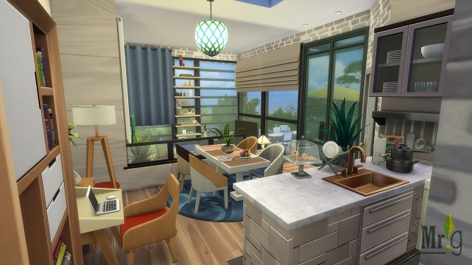 Arold Small House at Mister Glucose image 10413 670x377 Sims 4 Updates