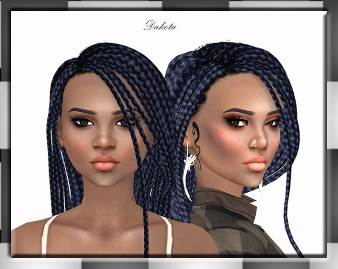Sims 4 Dakota by Mich Utopia at Sims 4 Passions