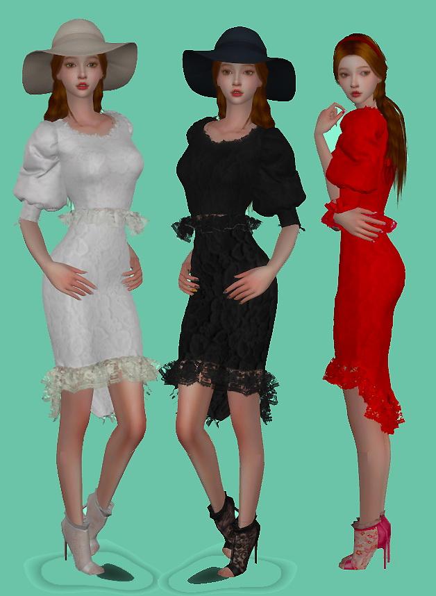 Classic puff suit at Simjigi image 10421 Sims 4 Updates