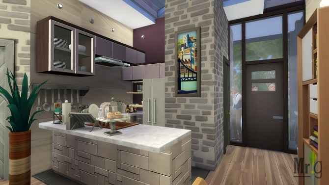 Arold Small House at Mister Glucose image 10513 670x377 Sims 4 Updates