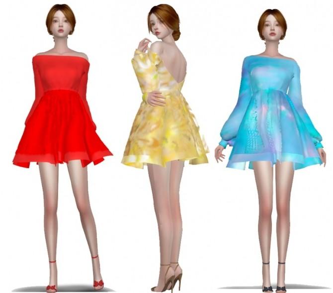 Sims 4 Lovely dress at Simjigi