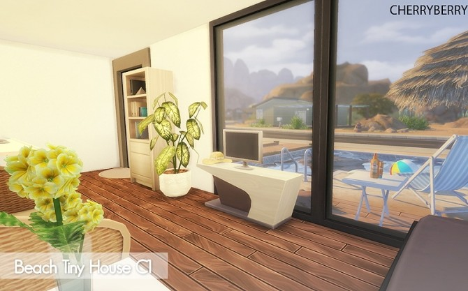 Beach Tiny House at Cherryberry image 1062 670x417 Sims 4 Updates