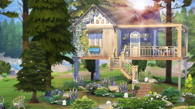WRITER'S TINY TREE HOUSE at Aveline Sims image 1096 670x377 Sims 4 Updates