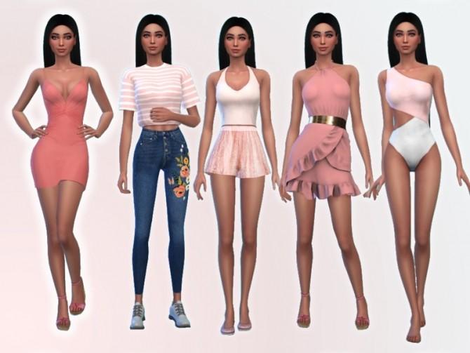 Sims 4 Abbie Carson by Mini Simmer at TSR