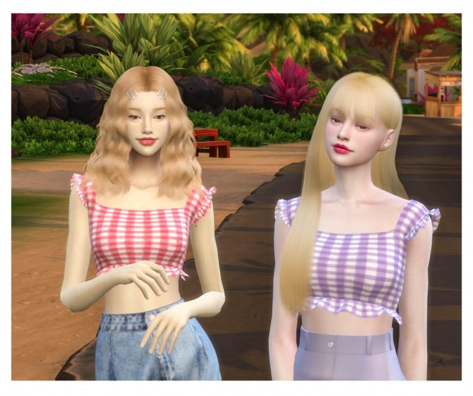 I PEACH YOU TOP at THKM16 image 11223 670x561 Sims 4 Updates