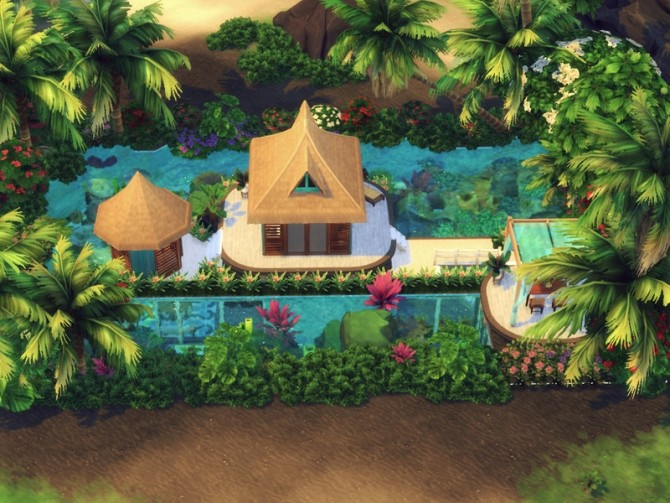 Sims 4 Mermaid Cove by Summerr Plays at TSR