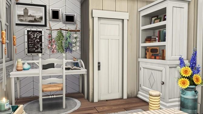 Sims 4 WRITER'S TINY TREE HOUSE at Aveline Sims