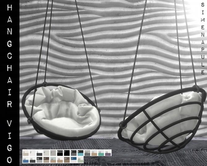 Hang Chair Vigo by Ronja at Simenapule image 1132 670x535 Sims 4 Updates