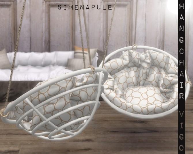 Hang Chair Vigo by Ronja at Simenapule image 1152 670x535 Sims 4 Updates