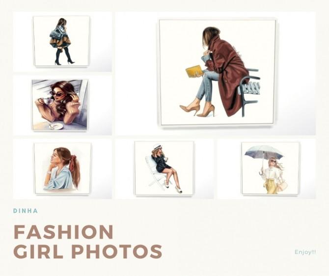 Sims 4 Fashion Girl Photos at Dinha Gamer