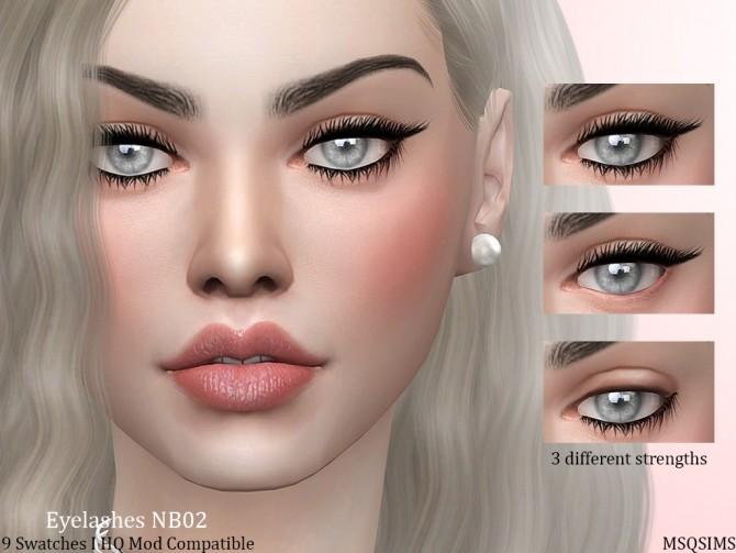 Eyelashes NB02 at MSQ Sims image 11714 670x503 Sims 4 Updates