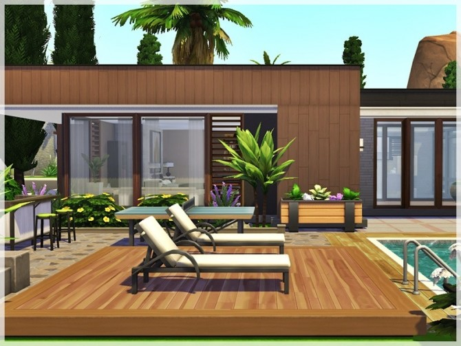 Heart of Palm home by Ray Sims at TSR image 1188 670x503 Sims 4 Updates