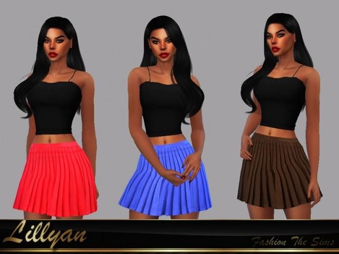 Sims 4 Isla Skirt by LYLLYAN at TSR