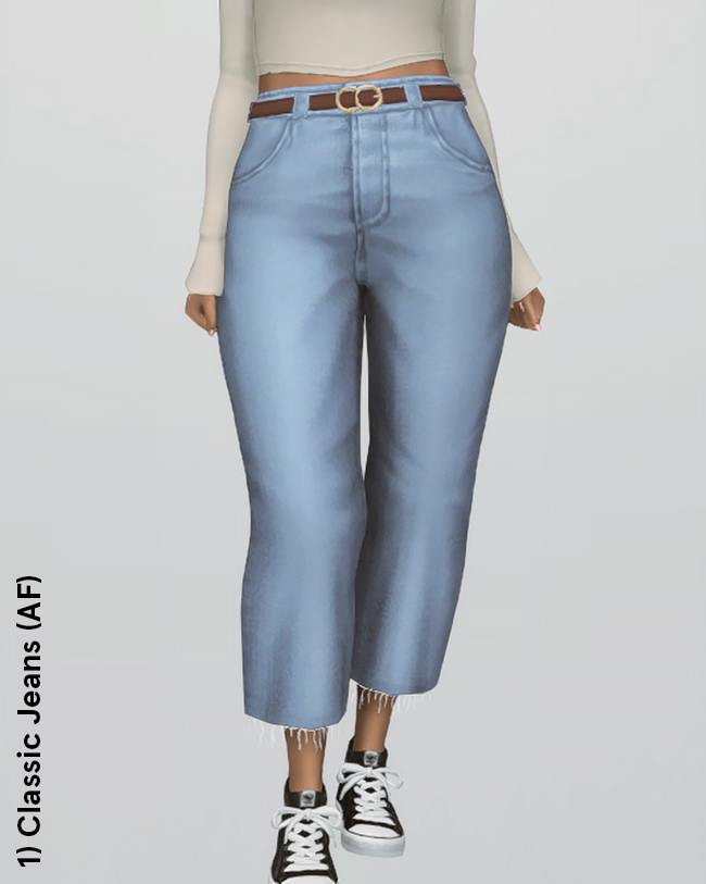 Sims 4 Classic Jeans & Bronte Sweater at Ridgeport