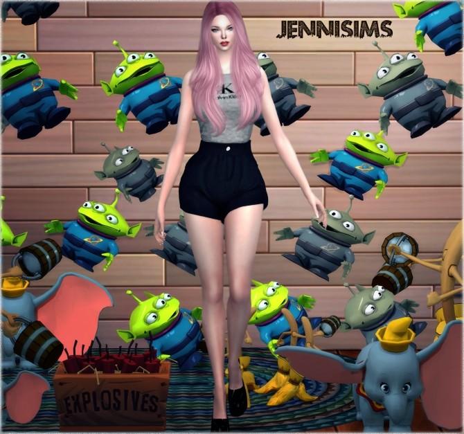 Alien, Magic brooms, Dumbo (4 ITEMS) at Jenni Sims image 1207 670x627 Sims 4 Updates
