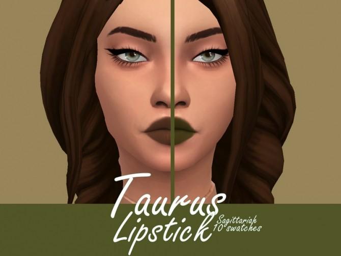 Taurus lipstick by Sagittariah at TSR image 12106 670x503 Sims 4 Updates