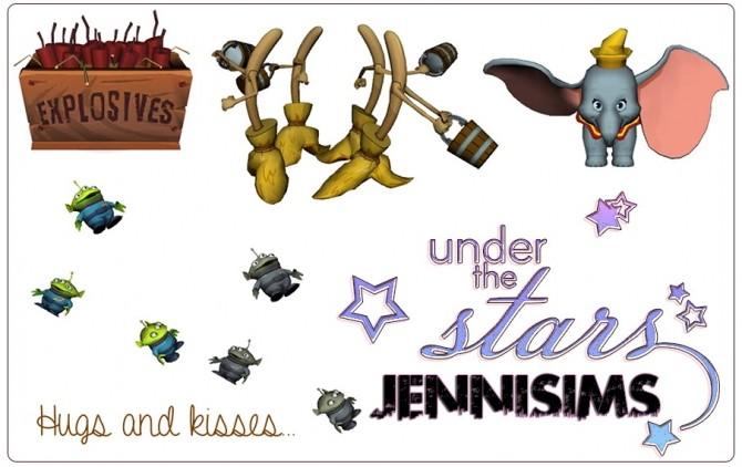 Alien, Magic brooms, Dumbo (4 ITEMS) at Jenni Sims image 12111 670x422 Sims 4 Updates