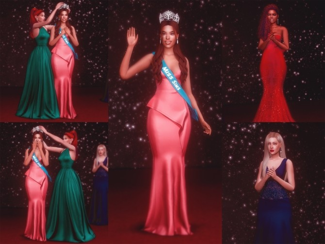 Sims 4 Beauty Pageant Crowning Poses at Katverse