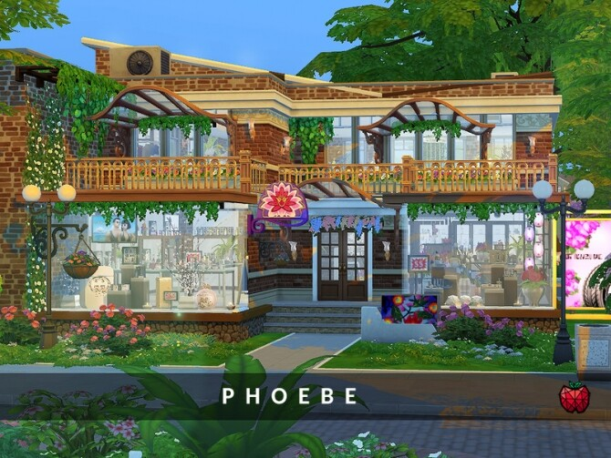 Phoebe beauty store by melapples at TSR image 12224 670x503 Sims 4 Updates